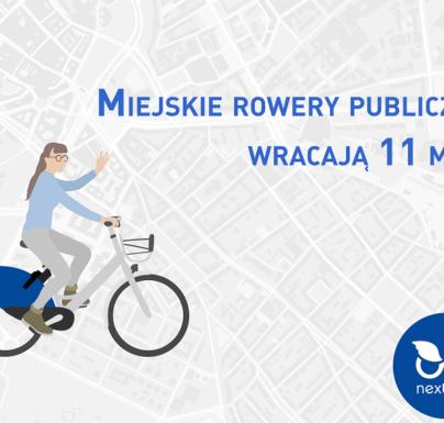 (Polski) 11 maja – rower miejski powraca do Sosnowca